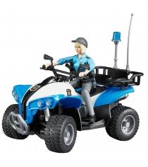 Полицейский квадроцикл с фигуркой Bruder 63-010
