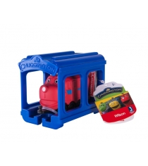 Хит тв рекламы Игровой набор Чаггингтон паровозик Уилсон с гаражом 38621