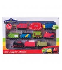 Набор  Chuggington из 10 паровозиков 38720
