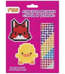 Алмазная мозаика Color Puppy стикер лиса и утенок 95291