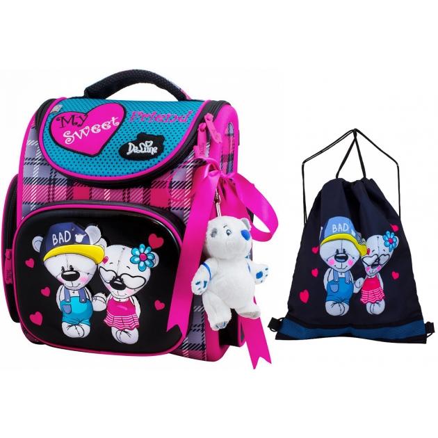1f06888238d1 Школьный рюкзак De lune каркасный 3-145 — купить по лучшей цене в ...
