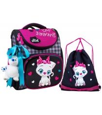 Школьный рюкзак De lune каркасный 3-156