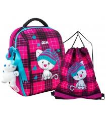 Школьный рюкзак De lune каркасный 7-136