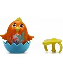 Цыпленок с кольцом DigiBirds оранжевый 88280-6