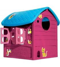 Домик деревенский для девочек Dohany пластиковый 5075М