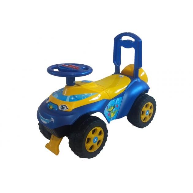 Каталка-толокар Doloni Автошка (0119) желтая