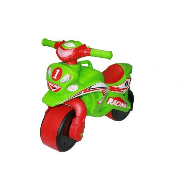 Каталка-толокар Doloni Моторбайк (138) красный зеленый