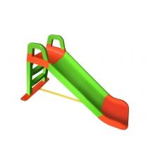 Горка Doloni Веселый спуск оранжевый зеленый