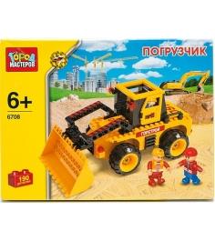 Детский конструктор Город Мастеров Погрузчик BB-6708-R...