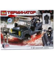 Детский конструктор Город Мастеров Терминатор Стреляющий Джип BB-6761-R