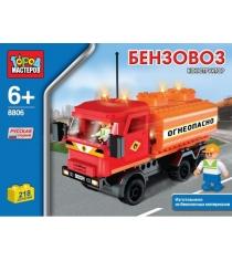 Детский конструктор Город Мастеров Бензовоз BB-8806-R1...