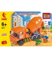 Детский конструктор Город Мастеров Бетономешалка Камаз BB-8875-R1