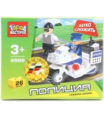 Детский конструктор Город Мастеров Полицейский Мотоцикл BB-8888-R...