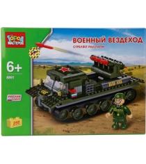 Детский конструктор Город Мастеров Военный Вездеход BB-8891-R