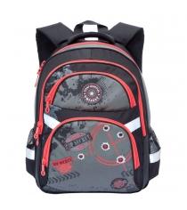 Школьный рюкзак Grizzly RB-629 черный