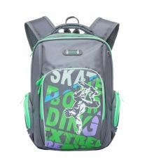 Школьный рюкзак Grizzly RB-630-2 серый