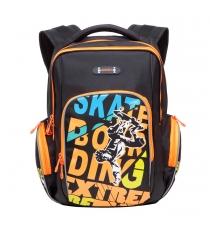 Школьный рюкзак Grizzly RB-630-2 черный