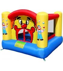 Надувной батут с горкой Happy hop Веселый клоун 9001