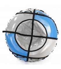 Тюбинг Hubster Sport Plus синий серый 120 см