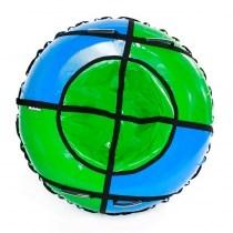 Тюбинг Hubster Sport Plus синий зеленый 120 см