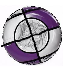 Тюбинг Hubster Sport Pro фиолетовый серый 120 см