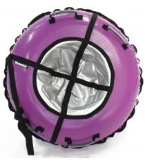 Тюбинг Hubster Ринг фиолетовый серый 105 см