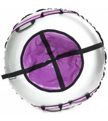 Тюбинг Hubster Ринг серый фиолетовый 105 см