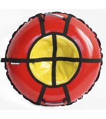 Тюбинг Hubster Ринг Pro красный желтый 120 см