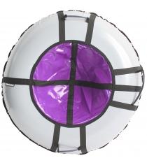 Тюбинг Hubster Ринг Pro серый фиолетовый 120 см