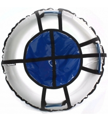 Тюбинг Hubster Ринг Pro серый синий 120 см