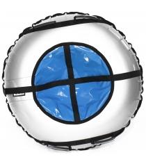 Тюбинг Hubster Ринг Plus серый синий 120 см