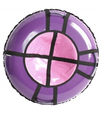 Тюбинг Hubster Ринг Pro фиолетовый розовый 120 см