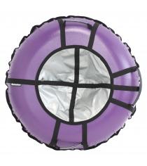 Тюбинг Hubster Ринг Pro фиолетовый серый 120 см