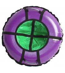 Тюбинг Hubster Ринг Pro фиолетовый зеленый 120 см