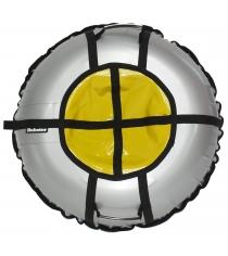 Тюбинг Hubster Ринг Pro серый желтый 120 см