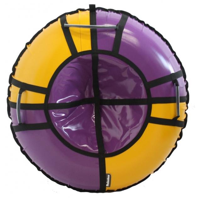 Тюбинг Hubster Sport Pro фиолетовый желтый 90 см