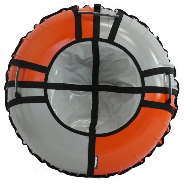 Тюбинг Hubster Sport Pro серый оранжевый 120 см