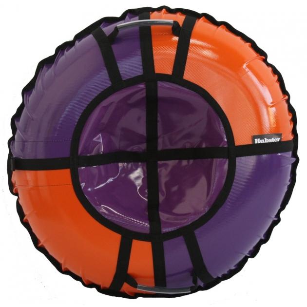 Тюбинг Hubster Sport Pro фиолетовый оранжевый 120 см