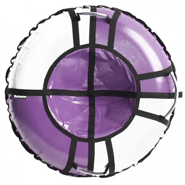 Тюбинг Hubster Sport Pro фиолетовый серый 80 см