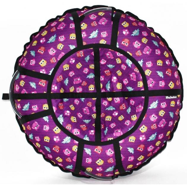 Тюбинг Hubster Люкс Pro Совята фиолетовые 80 см