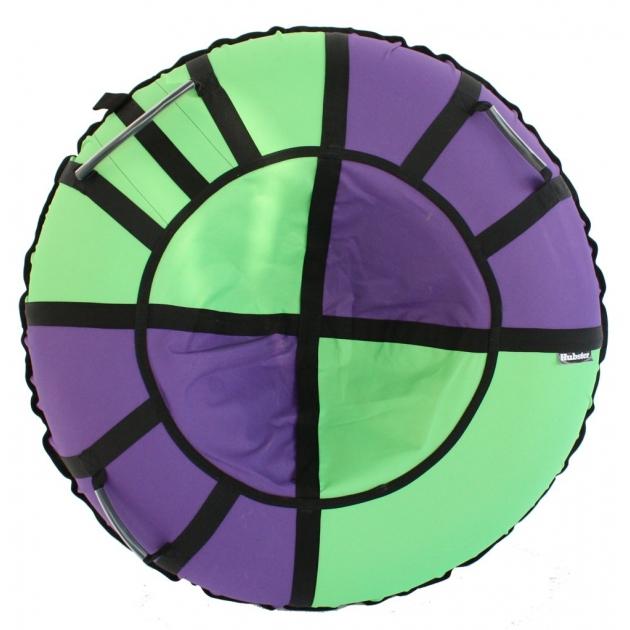 Тюбинг Hubster Хайп фиолетовый салатовый 90 см
