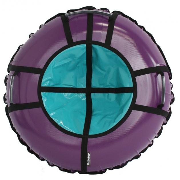 Тюбинг Hubster Ринг Pro фиолетовый бирюзовый 120 см