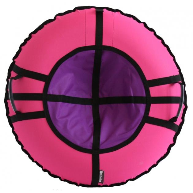 Тюбинг Hubster Ринг Хайп розовый фиолетовый 90 см
