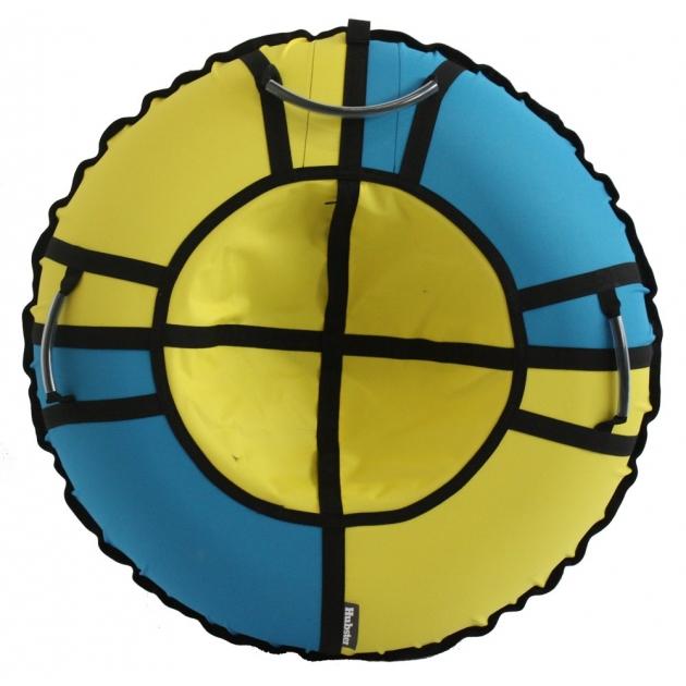 Тюбинг Hubster Хайп желтый бирюзовый 90 см