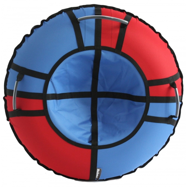Тюбинг Hubster Хайп красный голубой 90 см