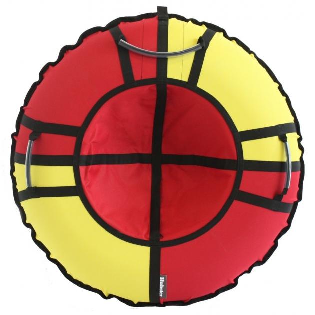 Тюбинг Hubster Хайп красный желтый 90 см