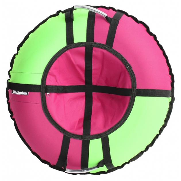 Тюбинг Hubster Хайп розовый салатовый 110 см