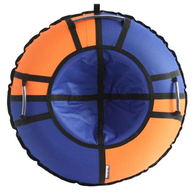 Тюбинг Hubster Хайп синий оранжевый 90 см