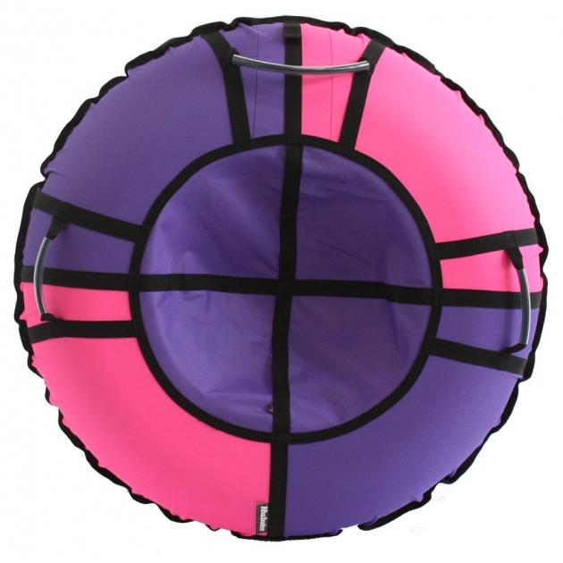 Тюбинг Hubster Хайп сиреневый розовый 120 см