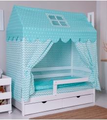 Кровать домик Incanto Dream Home белый